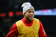 KYLIAN MBAPPE (PSG) at warm up while the second periode during the French Championship Ligue 1 football match between Paris Saint-Germain and ESTAC Troyes on November 29, 2017 at Parc des Princes stadium in Paris, France - Photo Stephane Allaman / ProSportsImages / DPPI