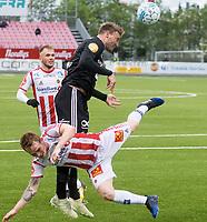 Fotball , 11. juni 2018 , Eliteserien , Tromsø - Rosenborg<br /> <br /> Nicklas Bendtner , RBK<br /> Kent-Are Antonsen , TIL