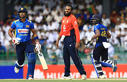 October 23, 2018 - Colombo, Sri Lanka - England cricketer Adil Rashid looks on during the 5th One Day International cricket match between Sri Lanka and England at the R Premadasa International Cricket Stadium  Sri Lanka. Tuesday 23 October 2018  (Credit Image: © Tharaka Basnayaka/NurPhoto via ZUMA Press)