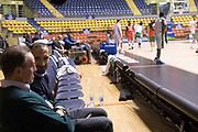 Giorgio Chiellini, Carlo Recalcati<br /> Nazionale Italiana Maschile Senior - Giorgio Chiellini visita gli Azzurri in Allenamento<br /> FIP 2017<br /> Torino, 23/11/2017<br /> Foto M.Ceretti / Ciamillo-Castoria