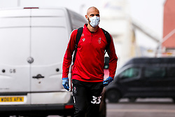 Niki Maenpaa of Bristol City arrives during a friendly match before the Premier League and Championship resume after the Covid-19 mid-season disruption - Rogan/JMP - 12/06/2020 - FOOTBALL - St Mary's Stadium, England - Southampton v Bristol City - Friendly.