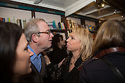 ALLIE ESIRI; HELEN FIELDING , Allie Esiri's The Love Book launch party , Daunt Books <br /> 83 Marylebone High Street, London. 5 February 2014