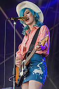 Black Honey play the Obelisk Arena - The 2018 Latitude Festival, Henham Park. Suffolk 15 July 2018