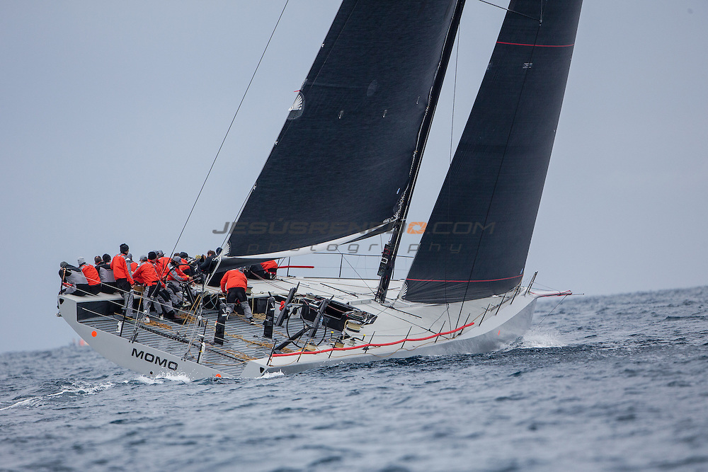 "Maxi 72 ""MOMO "" training in Palma for the 2015 season."
