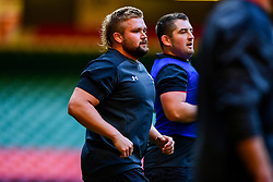 Thomas Francis during the training session - Photo mandatory by-line: Ryan Hiscott/JMP - 29/10/2018 - RUGBY - Principality Stadium - Cardiff, Wales - Autumn Series - Wales Rugby Open Training Session