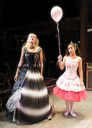 Prima La Musica<br /> Opera At Home Ensemble<br /> at The Arcola Theatre, London, Great Britain <br /> 25th August 2011 <br /> Rehearsal <br /> Grimeborn The Opera Festival<br /> directed by Jose Manuel Gandia<br /> <br /> Alexia Mankovskaya (as Eleonora)<br /> Merrin Lazyan (as Tonina)<br /> <br /> <br /> Photograph by Elliott Franks