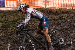 KAY Anna (GBR) during Women Under 23 race, 2020 UCI Cyclo-cross Worlds Dübendorf, Switzerland, 2 February 2020. Photo by Pim Nijland / Peloton Photos | All photos usage must carry mandatory copyright credit (Peloton Photos | Pim Nijland)