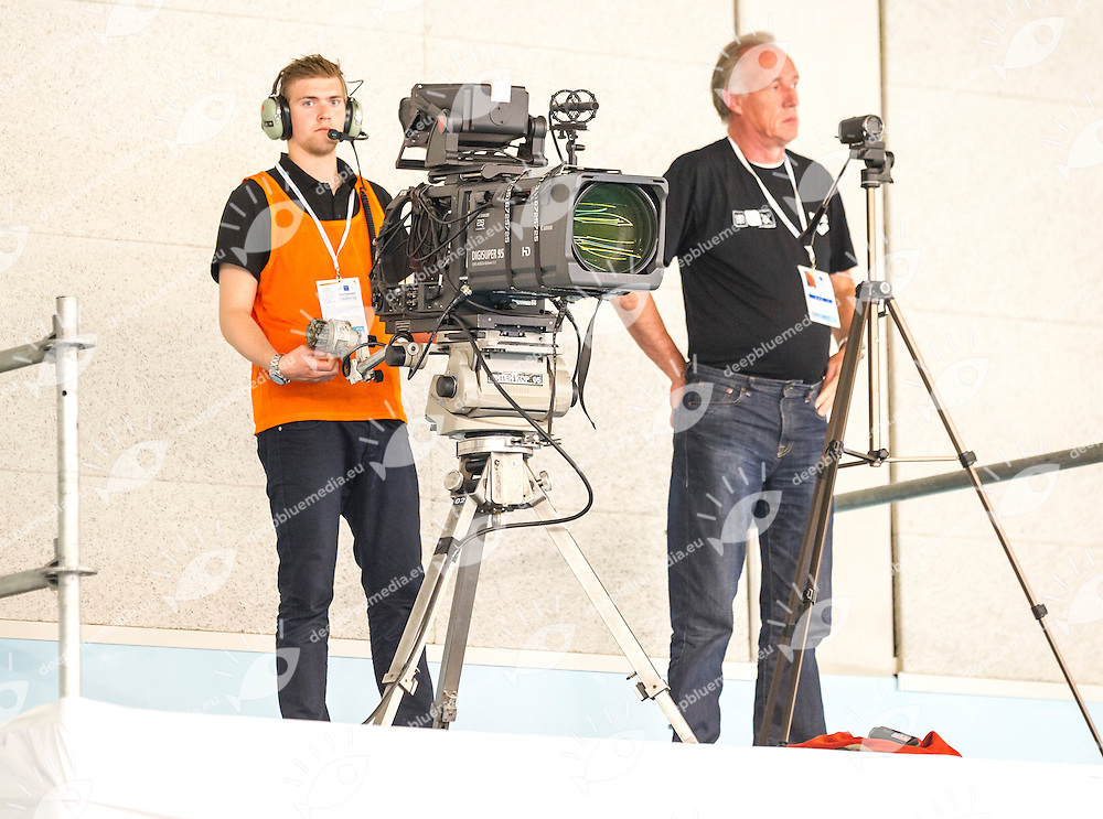 Preliminary Duet Technical<br /> Venue<br /> European Champions Cup Synchronised Swimming Haarlemmermeer 2015<br /> Haarlemmermeer, Netherlands 2015  May 8 th - 10 th<br /> Day02 - May 9th<br /> Photo P. F. Mesiano/Deepbluemedia/Inside
