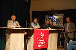 Van Bergen Henk, Van Lieren Laurens, (NED), Morris George, (USA)<br /> Global Dressage Forum<br /> Academy Bartels - Hooge Mierden 2015<br /> © Hippo Foto - Dirk Caremans<br /> 27/10/15