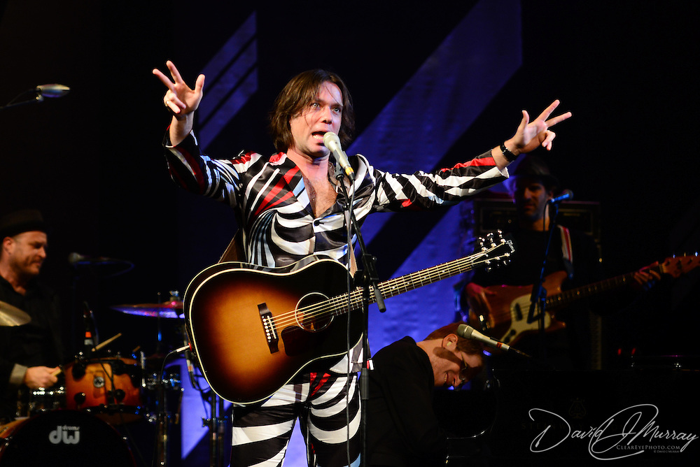 Rufus Wainwright and friends perform at The Music Hall in Portsmouth, NH, October, 2012.