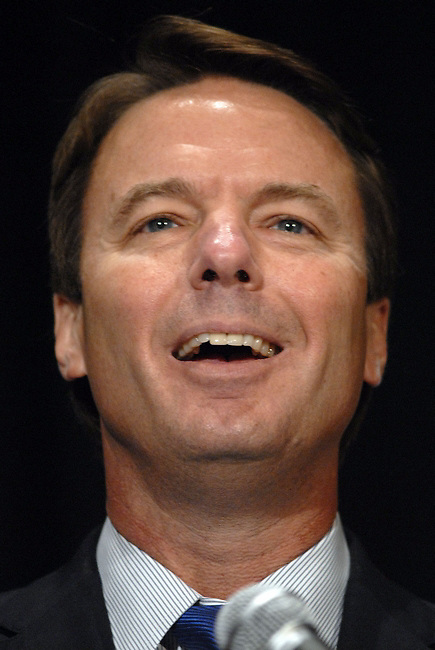 Democratic Canidate, John Edwards at the Democratic National Committee Fall meeting in Vienna, VA