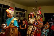 Belo Horizonte_MG, Brasil...Encenacao do presepio na casa de uma familia...The presentation of the Christmas crib in a family house...Foto: LEO DRUMOND / NITRO