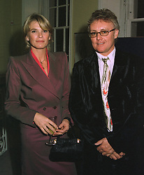 MR & MRS ROGER TAYLOR he is the rock musician, at a party in London on October 16th 1997.MCD 13