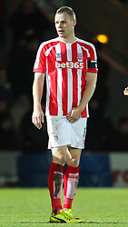 Stoke City's Ryan Shawcross l - Photo mandatory by-line: Matt McNulty/JMP - Mobile: 07966 386802 - 26/01/2015 - SPORT - Football - Rochdale - Spotland Stadium - Rochdale v Stoke City - FA Cup Fourth Round