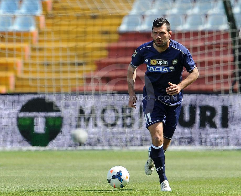 Udine, 04 maggio 2014.<br /> Serie A 2013/2014. 36^ giornata.<br /> Stadio Friuli<br /> Udinese vs Livorno.<br /> Nella foto: Maurizio Domizzi.<br /> &copy; foto di Simone Ferraro