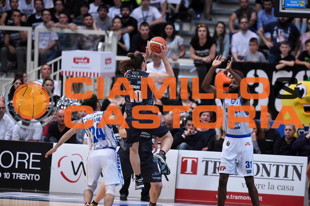 Forray Toto<br /> Quarti di Finale Gara 2<br /> Legabasket A 2016,2017<br /> Trento 14,05,2017<br /> Foto Ciamillo-Castoria,GiulioCiamillo