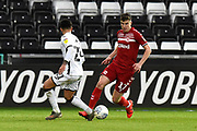 Paddy McNair (17) of Middlesbrough on the attack during the EFL Sky Bet Championship match between Swansea City and Middlesbrough at the Liberty Stadium, Swansea, Wales on 14 December 2019.