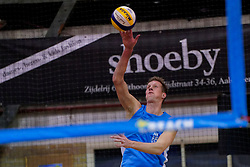 04-01-2020 NED: NK Beach volleyball Indoor, Aalsmeer<br /> Christiaan Varenhorst