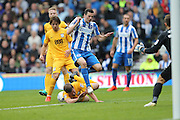 Brighton & Hove Albion winger Jamie Murphy (15) during the EFL Sky Bet Championship match between Brighton and Hove Albion and Preston North End at the American Express Community Stadium, Brighton and Hove, England on 15 October 2016.