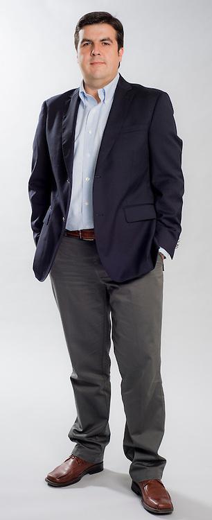 Arturo Aguilera, Gerente Zonal, Asociación Chilena de Seguridad. Santiago de Chile. 15-04-2015 (©Alvaro de la Fuente/Triple.cl)