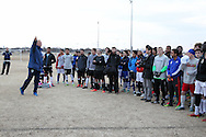 February 5, 2016: OKC Energy FC holds open tryouts at Norman Soccer Complex in Norman, Oklahoma.