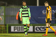 Forest Green Rovers Tahvon Campbell(25) during the EFL Sky Bet League 2 match between Forest Green Rovers and Cambridge United at the New Lawn, Forest Green, United Kingdom on 20 January 2018. Photo by Shane Healey.