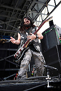 Black Label Society performing at Rock on the Range at Crew Stadium in Columbus, OH on May 22, 2011