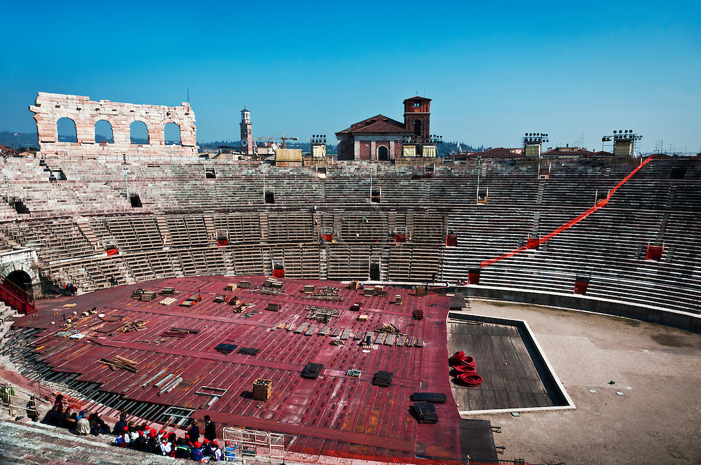 The Ampitheatre (arena) in Verona, Italy