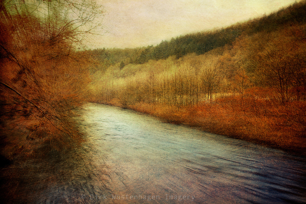 Close to the river in autumn<br />