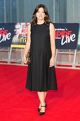 © Licensed to London News Pictures. 23/09/2016. JO HARTLEY attends the Swiss Army Man and Imperium film premier's  at the Empire Live gala screening, London, UK. Photo credit: Ray Tang/LNP