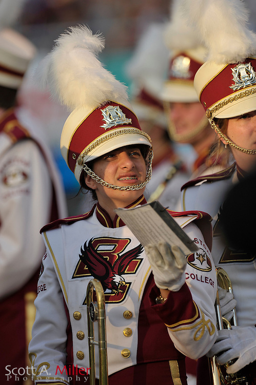 Dec. 28, 2007; Orlando, FL, USA; The Boston College band prior to the Eagels playing the Michigan State Spartans in the Champs Sports Bowl at the Citrus Bowl in Orlando, FL...©2007 Scott A. Miller