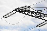 Nederland, Nijmegen, 18-9-2011Isolatoren op een hoogspanningsmast.Foto: Flip Franssen/Hollandse Hoogte