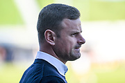 Oldham Athletic manager Richie Wellens  during the EFL Sky Bet League 1 match between Northampton Town and Oldham Athletic at Sixfields Stadium, Northampton, England on 5 May 2018. Picture by Dennis Goodwin.
