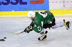 Tilen Pilko Zagorc at ice hockey match between Toja Olimpija and Stavbar Maribor,  on November 19, 2008 in Arena Tivoli, Ljubljana, Slovenia. Stavbar Maribor won the match 3:2.  (Photo by Vid Ponikvar / Sportida)
