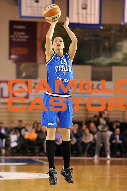 DESCRIZIONE : Parma All Star Game 2012 Donne Torneo Ocme Lega A1 Femminile 2011-12 FIP <br /> GIOCATORE : Jenifer Nadalin<br /> CATEGORIA : tiro<br /> SQUADRA : Nazionale Italia Donne Ocme All Stars<br /> EVENTO : All Star Game FIP Lega A1 Femminile 2011-2012<br /> GARA : Ocme All Stars Italia<br /> DATA : 14/02/2012<br /> SPORT : Pallacanestro<br /> AUTORE : Agenzia Ciamillo-Castoria/C.De Massis<br /> GALLERIA : Lega Basket Femminile 2011-2012<br /> FOTONOTIZIA : Parma All Star Game 2012 Donne Torneo Ocme Lega A1 Femminile 2011-12 FIP <br /> PREDEFINITA :
