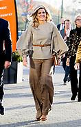 Koningin Máxima is bij de lancering van SchuldenlabNL. De Stichting SchuldenlabNL is een samenwerkin
