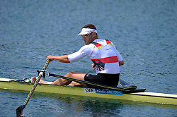 Olympic Games London 2012, rowing,.Marcel Hacker (GER) .© pixathlon