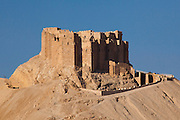 Muslim Castle, Palmyra (Qala'at ibn Maan or Fakhr-al-Din al-Maani Castle), built by the Mamluks in the 13th century.