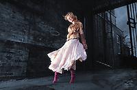 Monika Januszewska from Borrowash, starred in Elle magazine after she was spotted in a Topshop in Birmingham.