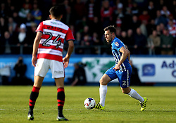 Carl Magnay of Hartlepool United runs with the ball - Mandatory by-line: Robbie Stephenson/JMP - 06/05/2017 - FOOTBALL - The Northern Gas and Power Stadium (Victoria Park) - Hartlepool, England - Hartlepool United v Doncaster Rovers - Sky Bet League Two