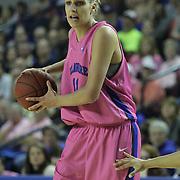 Delaware Forward Elena Delle Donne (11) takes possession of the ball during a regular season NCAA basketball game against James Madison Sunday, Feb 24, 2013 at the Bob Carpenter Center in Newark Delaware...Delaware (24-3; 15-0) defeated James Madison (18-9; 13-3) 61-60