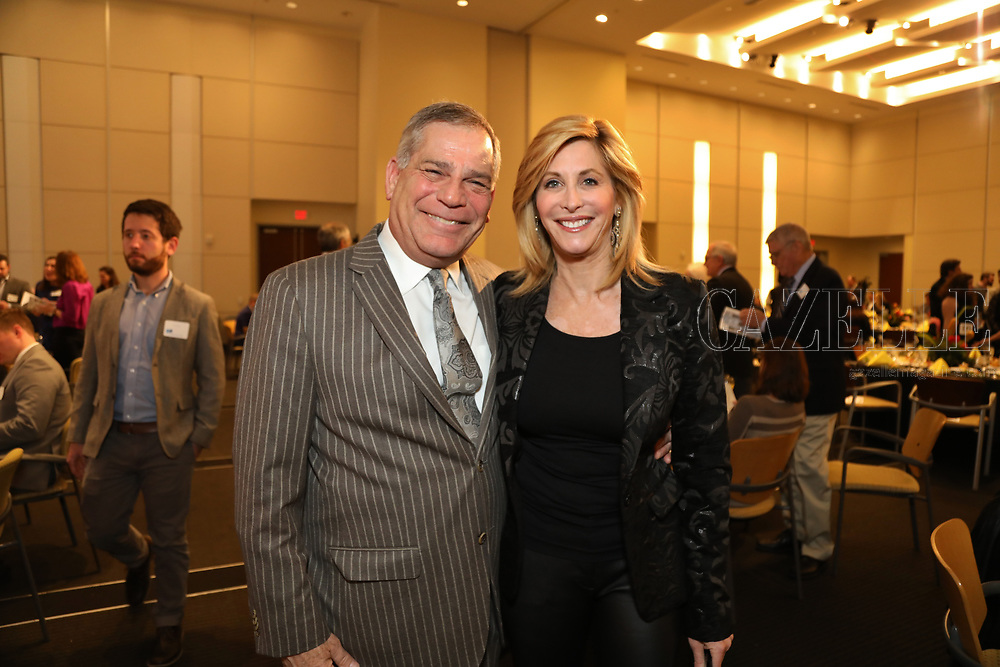 co-chair and President Bill Greenblatt, Leisa Zigman