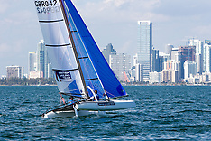 2014 Miami OCR  | Nacra 17 | Day 1