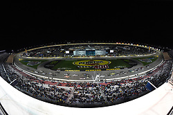 March 1, 2019 - Las Vegas, NV, U.S. - LAS VEGAS, NV - MARCH 01: Kyle Busch (51) KBM Toyota Tundra leads the field across the start/finish line for the start of the race during the NASCAR Gander Outdoors Truck Series Strat 200 on March 01, 2019, at Las Vegas Motor Speedway in Las Vegas, NV. (Photo by Chris Williams/Icon Sportswire) (Credit Image: © Chris Williams/Icon SMI via ZUMA Press)