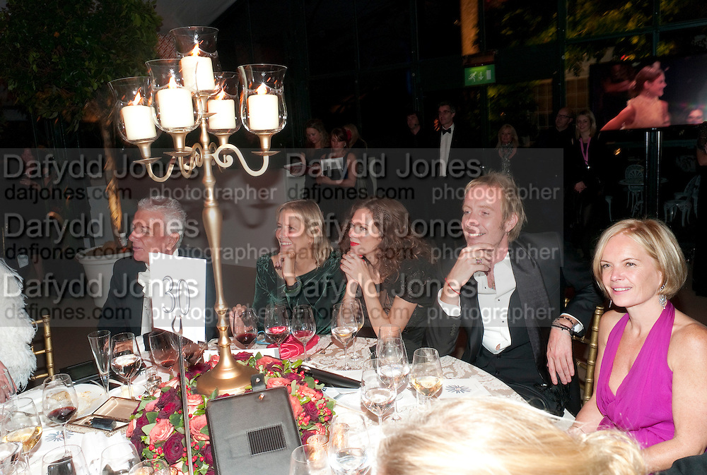 ANNA FRIEL; RHYS IFANS; MARIELA FROSTRUP, Evgeny Lebedev and Graydon Carter hosted the Raisa Gorbachev charity Foundation Gala, Stud House, Hampton Court, London. 22 September 2011. <br /> <br />  , -DO NOT ARCHIVE-© Copyright Photograph by Dafydd Jones. 248 Clapham Rd. London SW9 0PZ. Tel 0207 820 0771. www.dafjones.com.