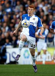 Rory Gaffney of Bristol Rovers controls the ball - Mandatory by-line: Robbie Stephenson/JMP - 16/04/2016 - FOOTBALL - Memorial Stadium - Bristol, England - Bristol Rovers v Yeovil Town - Sky Bet League Two