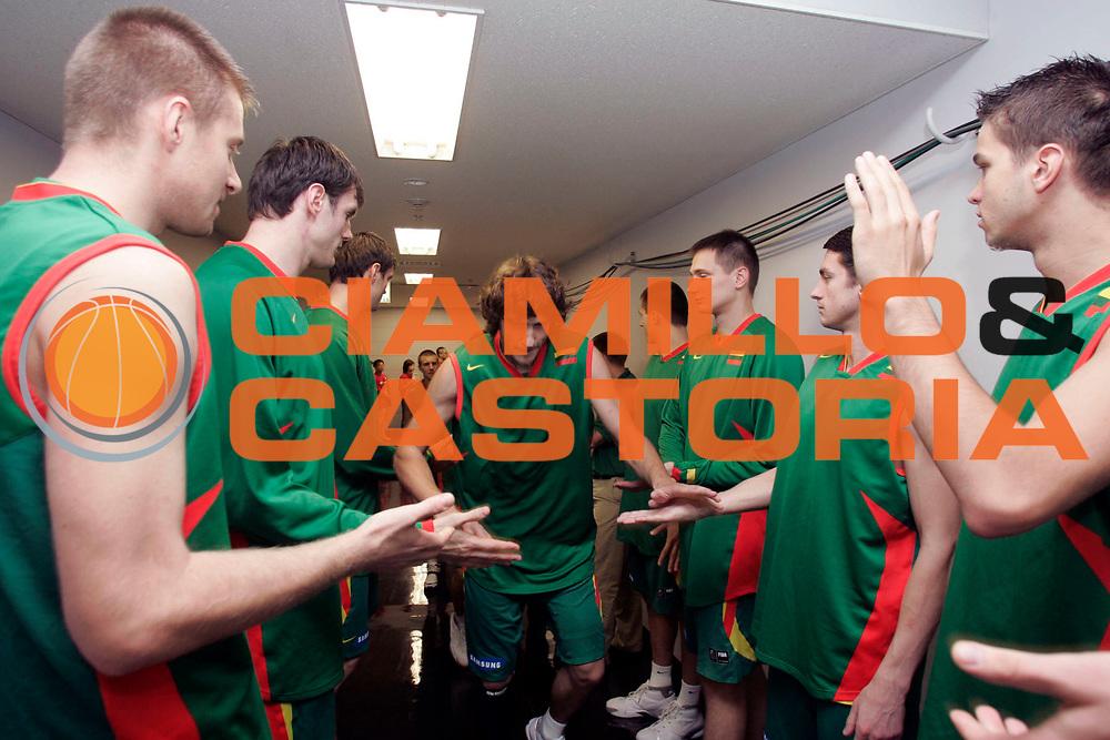 DESCRIZIONE : Saitama Giappone Japan Men World Championship 2006 Campionati Mondiali Spain-Lithuania <br /> GIOCATORE : Macijauskas Spgliatoio <br /> SQUADRA : Lithuania Lituania <br /> EVENTO : Saitama Giappone Japan Men World Championship 2006 Campionato Mondiale Spain-Lithuania <br /> GARA : Spain Lithuania Spagna Lituania <br /> DATA : 29/08/2006 <br /> CATEGORIA : Ritratto <br /> SPORT : Pallacanestro <br /> AUTORE : Agenzia Ciamillo-Castoria/A.Vlachos <br /> Galleria : Japan World Championship 2006<br /> Fotonotizia : Saitama Giappone Japan Men World Championship 2006 Campionati Mondiali Spain-Lithuania <br /> Predefinita :