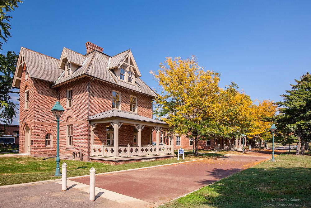 Architectural Image of Fay and Ballard House Dorms on Campus of Gallaudet University in Washington DC by Jeffrey Sauers of Commercial Photographics