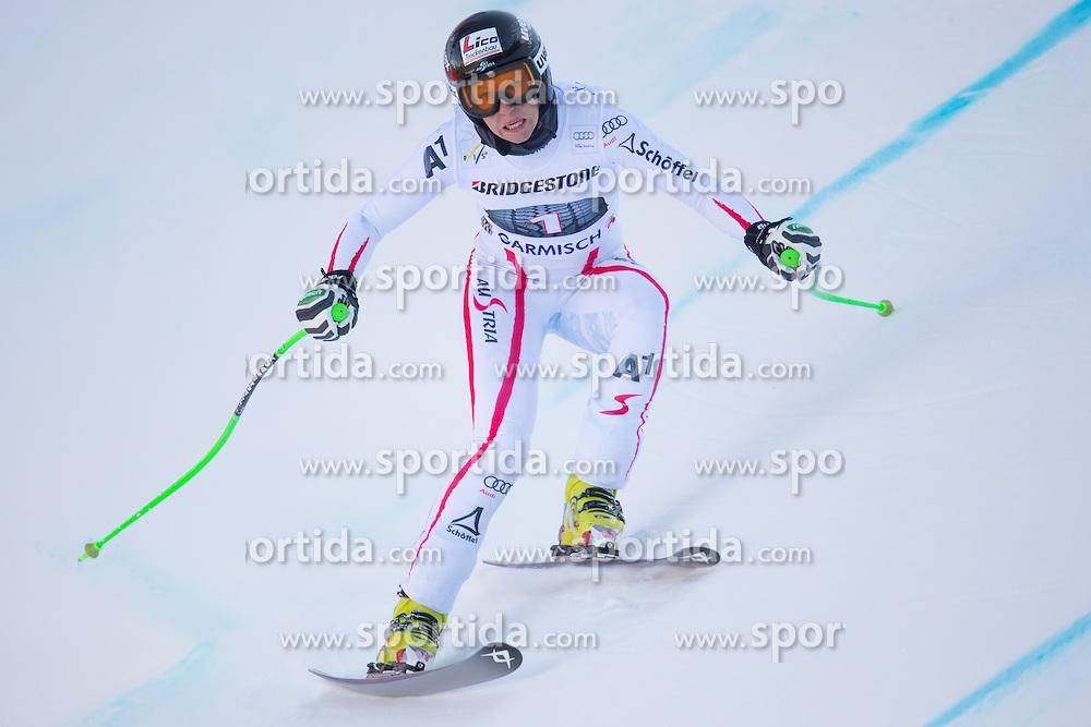 28.02.2013, Kandahar, Garmisch Partenkirchen, AUT, FIS Weltcup Ski Alpin, Abfahrt, Damen, 2. Training, im Bild Regina Sterz (AUT) // Regina Sterz of Austria in action during 2nd practice of the ladies Downhill of the FIS Ski Alpine World Cup at the Kandahar course, Garmisch Partenkirchen, Germany on 2013/02/28. EXPA Pictures © 2013, PhotoCredit: EXPA/ Johann Groder