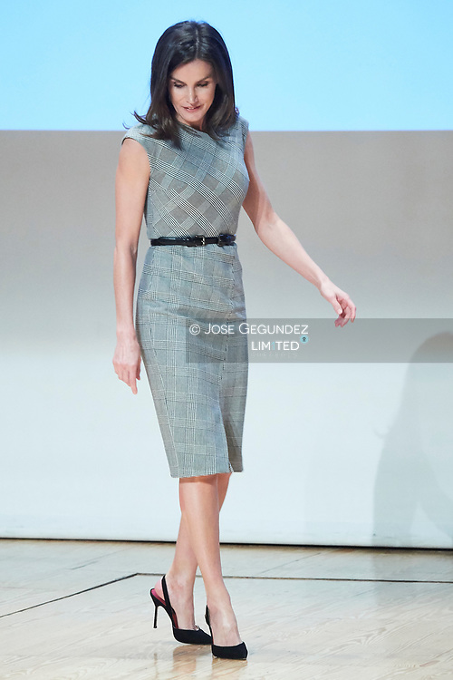 Queen Letizia of Spain attends Rare Disease Day 2019 at Complejo Duques de Pastrana on March 5, 2019 in Madrid, Spain